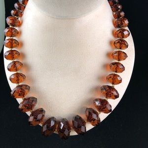 Joan Rivers Classics Collection Topaz Necklace